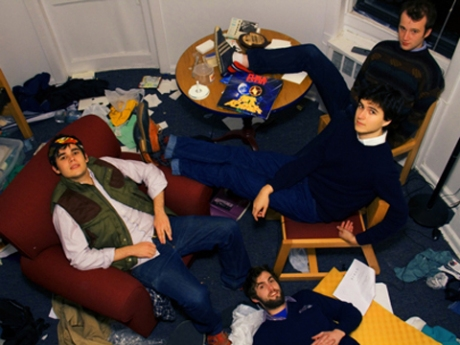Blog-approved Vampire Weekend, coming to town on April 4.