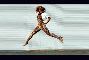 Santigold takes flight!
