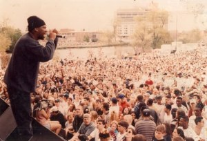 KRS-One, of Stop The Violence Movement