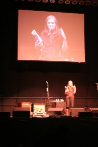 Amy Goodman of Democracy Now Progressive Concert Orpheum Theater Madison WI
