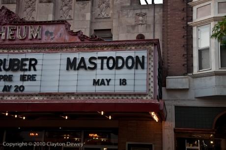 Mastodon Orpheum