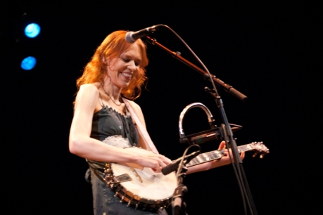 Gillian Welch live concert photos Madison WI Capitol Theater