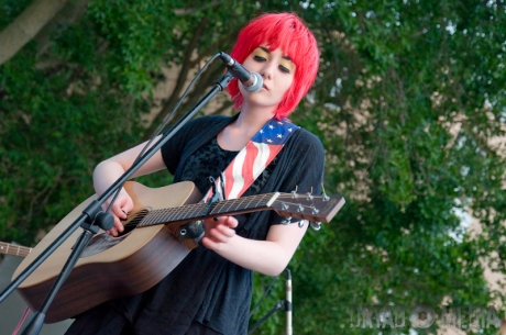 Jessica Lea Mayfield live concert photos Madison WI East Side Club