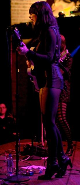 Dum Dum Girls live concert photos Madison WI High Noon Saloon