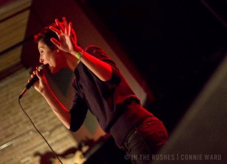 Polica FRZN Fest live concert photos High Noon Saloon Madison WI