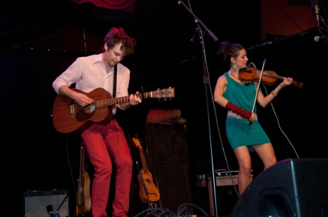 David Wax Museum live concert photos High Noon Saloon Madison WI