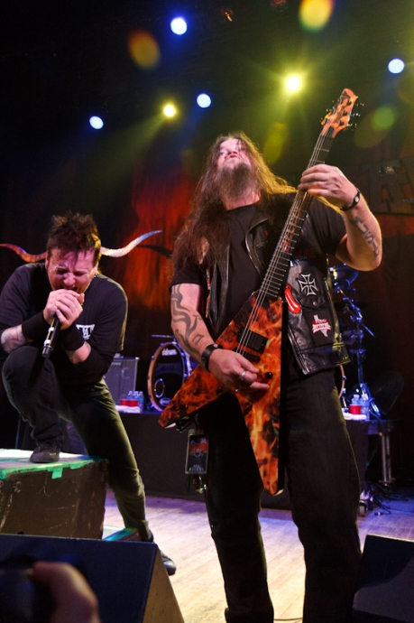 Hellyeah live concert photos Madison WI Barrymore Theatre