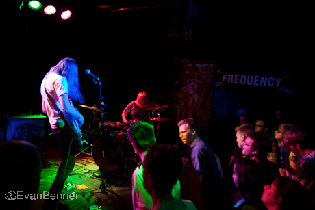 The Hussy live concert photos The Frequency Madison WI