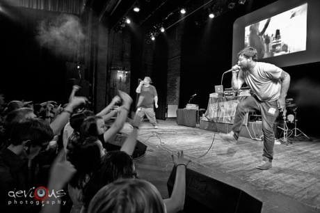 Aesop Rock live concert photos Madison WI Barrymore Theatre