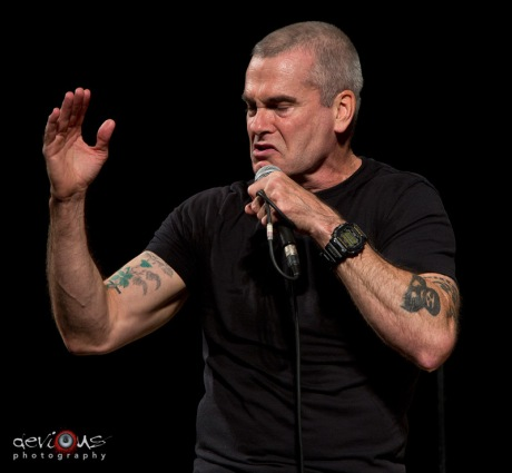 Henry Rollins live concert photos Madison WI Barrymore Theater