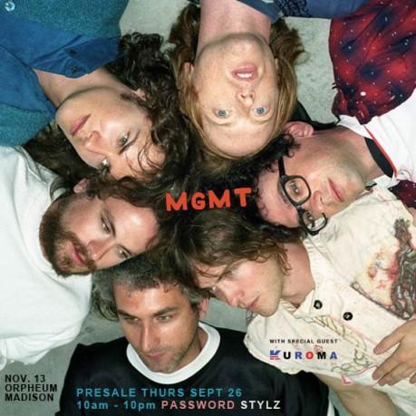 MGMT presale