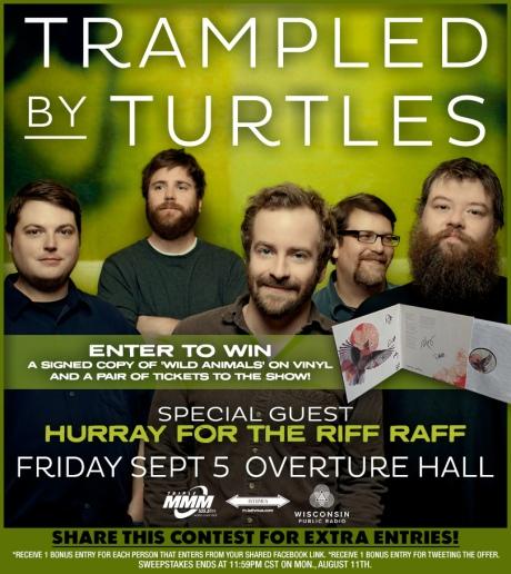 Trampled By Turtles Woobox